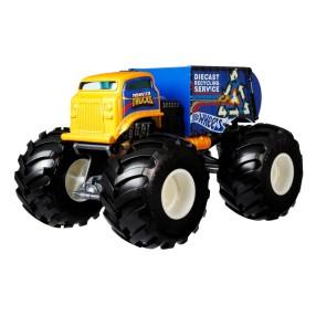 Hot Wheels Monster Trucks - Metalowy Pojazd Will Trash It All Skala 1:24 GTJ43