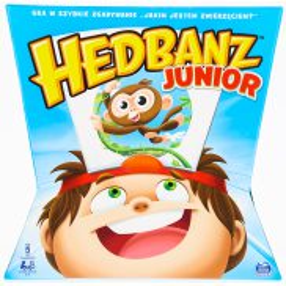 Spin Master - Gra Hedbanz Junior wer. PL 6060916