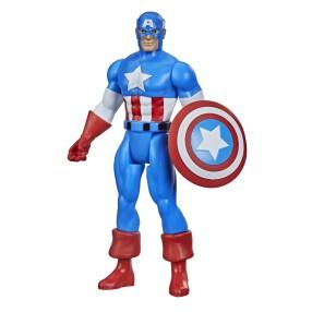 Hasbro Marvel Legends - Figurka Kapitan Ameryka 10cm Retro F2652