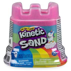 Kinetic Sand - Piasek kinetyczny mini 141g Tęczowy zamek 6054549