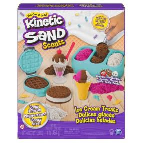 Kinetic Sand - Piasek kinetyczny Zestaw Lodowe przysmaki 454g 6059742