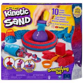 Kinetic Sand - Piasek kinetyczny Zestaw z akcesoriami 907g 6047232