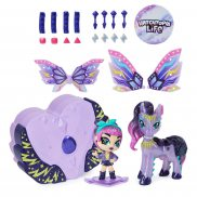 Spin Master Hatchimals Pixies Riders - Laleczka Wilder Wings Magical Mel i Ponygator Glider 20128605