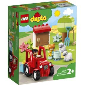 LEGO DUPLO - Traktor i zwierzęta gospodarskie 10950