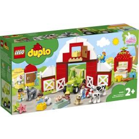 LEGO DUPLO - Stodoła, traktor i zwierzęta gospodarskie 10952
