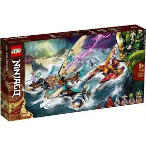 LEGO Ninjago - Morska bitwa katamaranów 71748