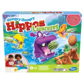 Hasbro - Gra Głodne Hipcie z wyrzutnią E9707