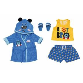 BABY born - Ubranko Chłopięcy strój kąpielowy z szlafrokiem dla lalki 43 cm 830499