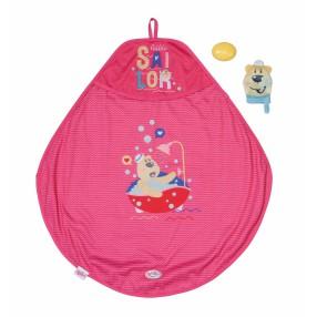 BABY born - Zestaw kąpielowy z ręcznikiem dla laki 830635