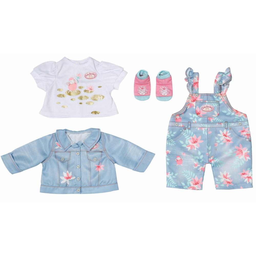 Baby Annabell - Ubranko Zestaw Dżinsowy Deluxe dla lalki 43 cm 705643