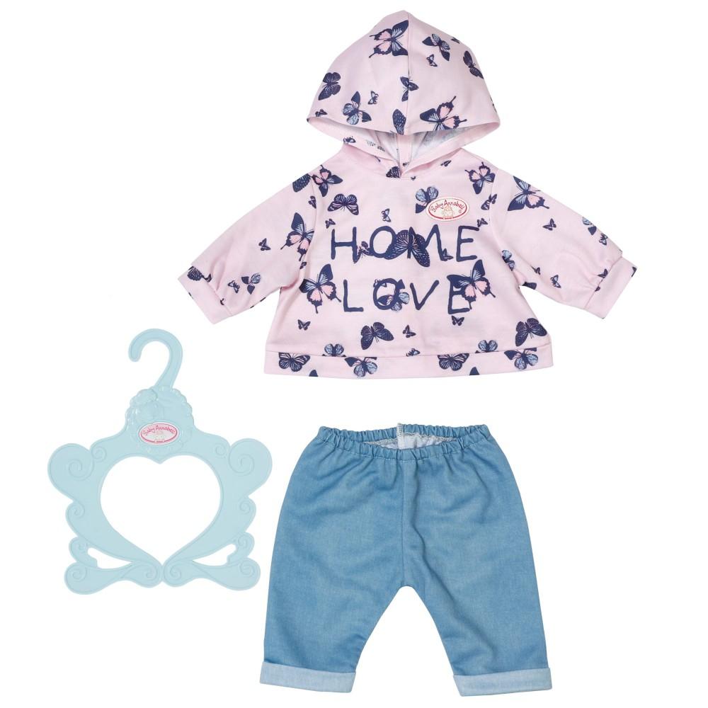 Baby Annabell - Ubranko Różowa Bluza i spodnie dla lalki 43 cm 704202