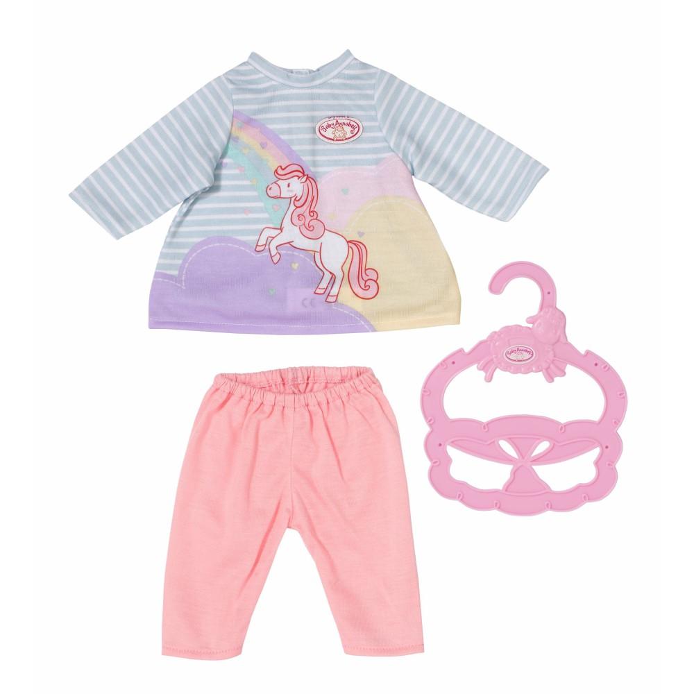 Baby Annabell - Ubranko Słodka sukienka i leginsy dla lalki 36 cm 704134