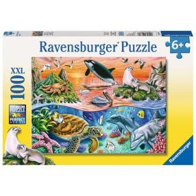 Ravensburger - Puzzle XXL Wzburzony ocean 100 elem. 106813
