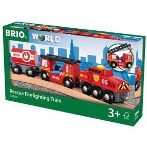 Brio Kolejka - Pociąg straż pożarna 33844