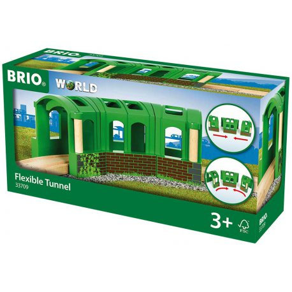 Brio Kolejka - Tunel elastyczny 33709