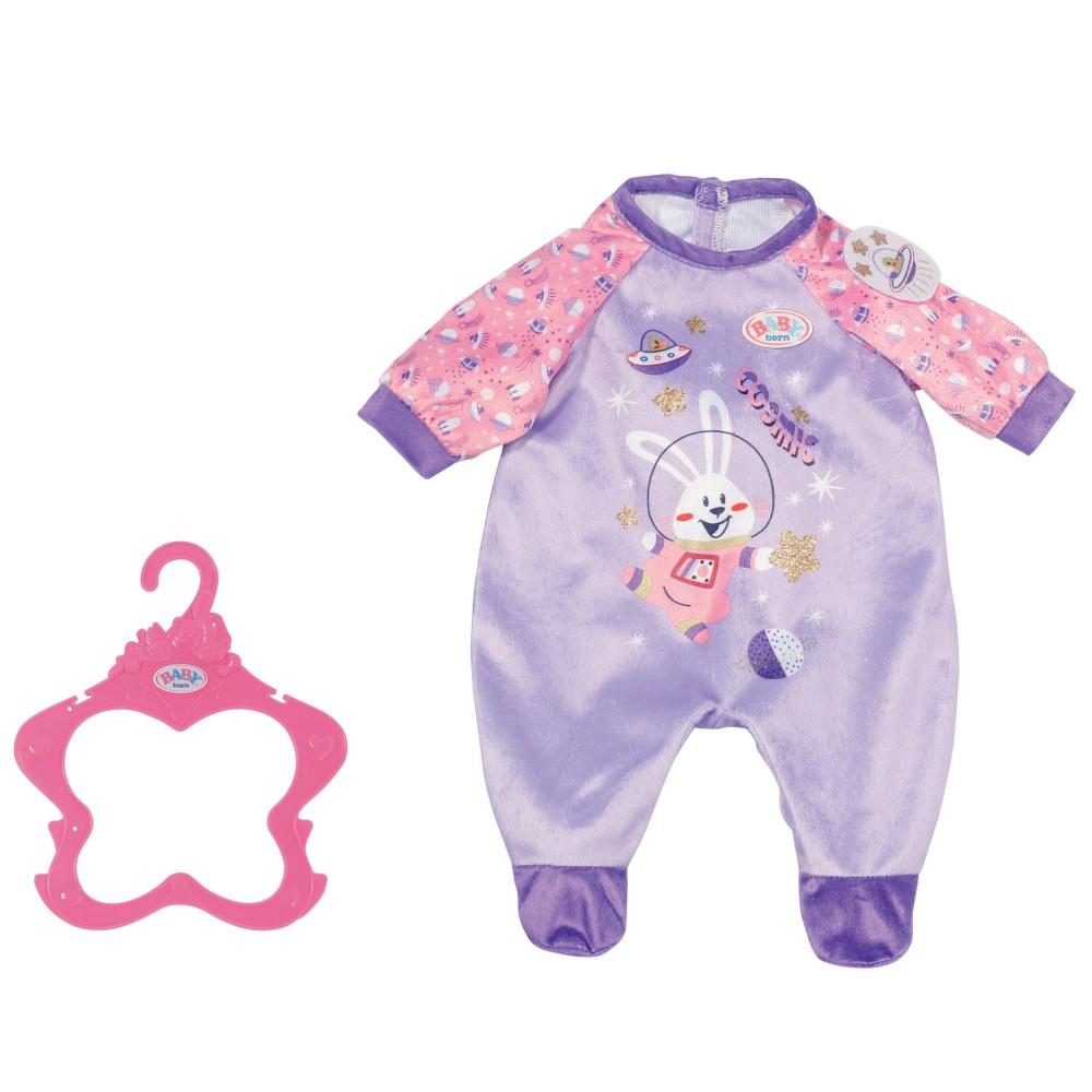 BABY born - Ubranko Śpioszek dla lalki 43 cm Fioletowy 831090