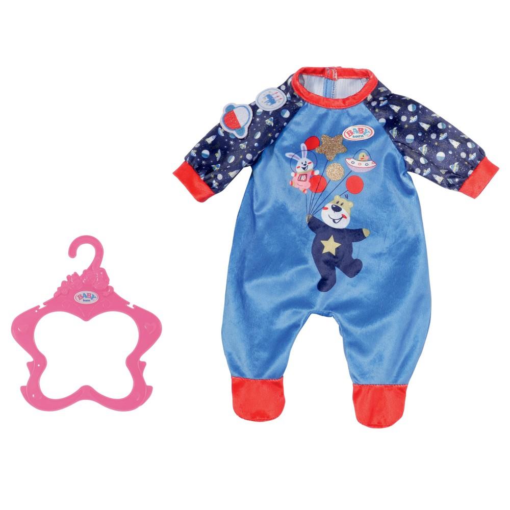 BABY born - Ubranko Śpioszek dla lalki 43 cm Niebieski 831090