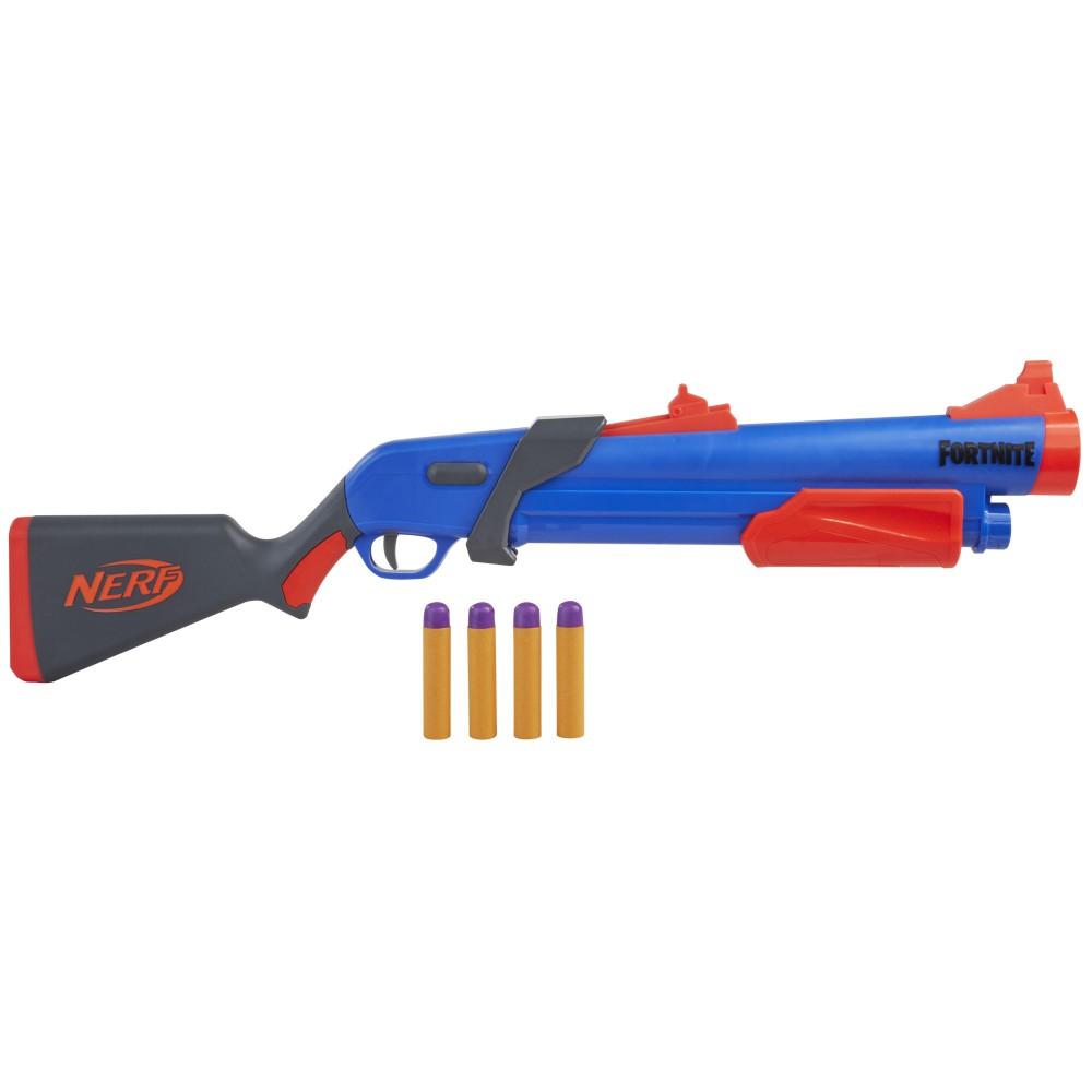 Hasbro Nerf - Wyrzutnia Fortnite Pump SG + 4 strzałki F0318
