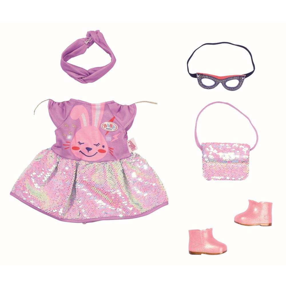 BABY born - Ubranko Strój urodzinowy Sukienka dla lalki 43 cm 830796