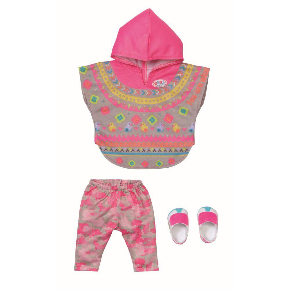 BABY born - Ubranko Modne Ponczo i Spodnie dla lalki 43 cm 830161