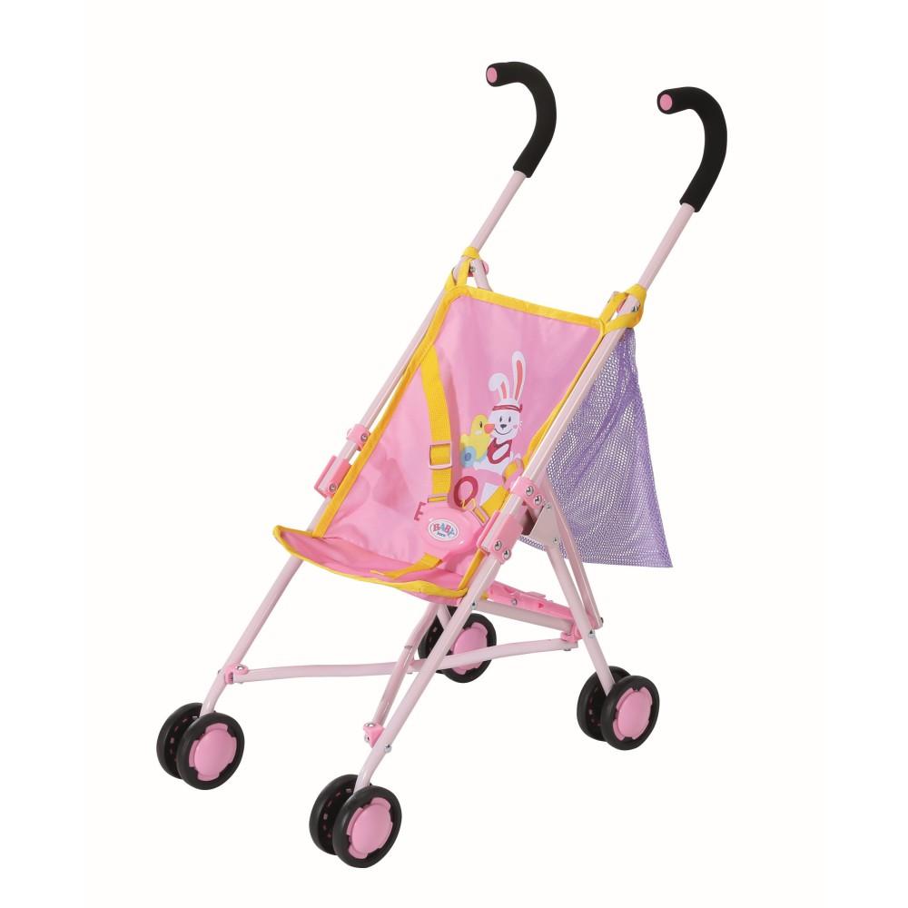 BABY born - Wózek Spacerówka dla lalek z siatką składana 828663