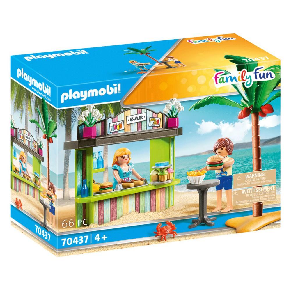 Playmobil - Kiosk na plaży 70437
