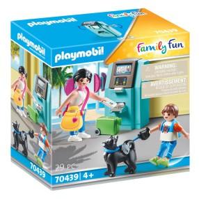 Playmobil - Urlopowicze przy bankomacie 70439