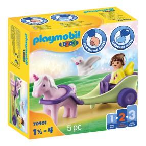 Playmobil - Powóz jednorożca z wróżką 70401