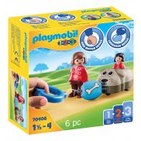Playmobil - Mój piesek na kółkach 70406