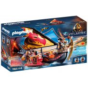 Playmobil - Statek ognia Wojowników Burnham 70641