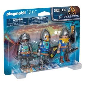 Playmobil - Trzech Rycerzy Novelmore 70671