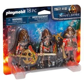 Playmobil - Trzech Wojowników Burnham 70672