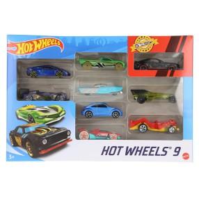 Hot Wheels - Małe samochodziki Dziewięciopak 9-pak X6999 05
