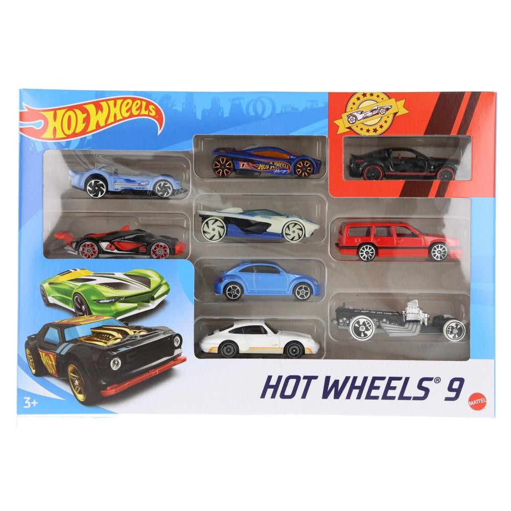 Hot Wheels - Małe samochodziki Dziewięciopak 9-pak X6999 06