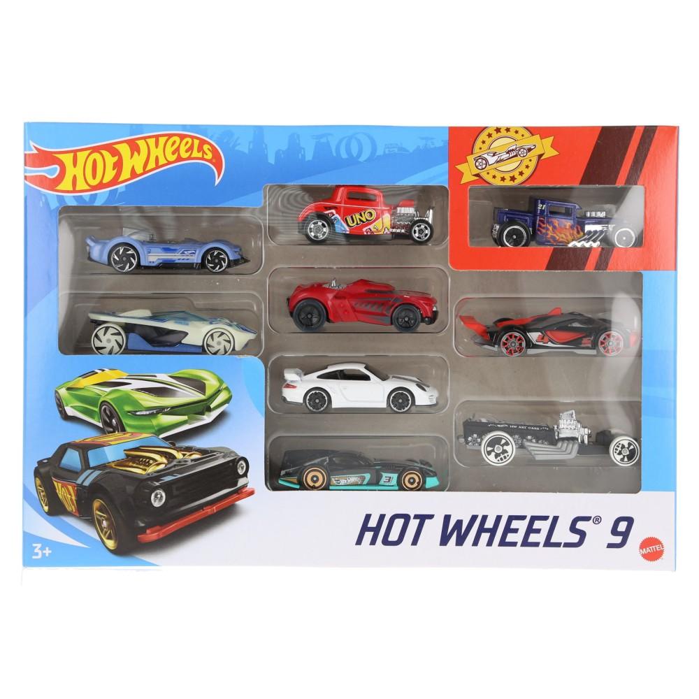 Hot Wheels - Małe samochodziki Dziewięciopak 9-pak X6999 07