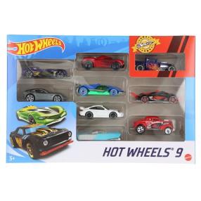 Hot Wheels - Małe samochodziki Dziewięciopak 9-pak X6999 08