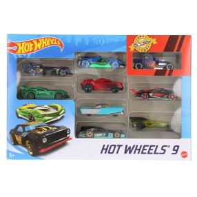 Hot Wheels - Małe samochodziki Dziewięciopak 9-pak X6999 09