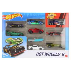 Hot Wheels - Małe samochodziki Dziewięciopak 9-pak X6999 10