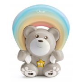 Chicco First Dreams - Miś z projektorem Rainbow Neutral 104740