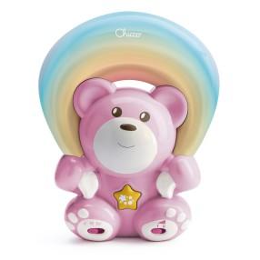 Chicco First Dreams - Miś z projektorem Rainbow Różowy 104741