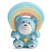 Chicco First Dreams - Miś z projektorem Rainbow Niebieski 104742