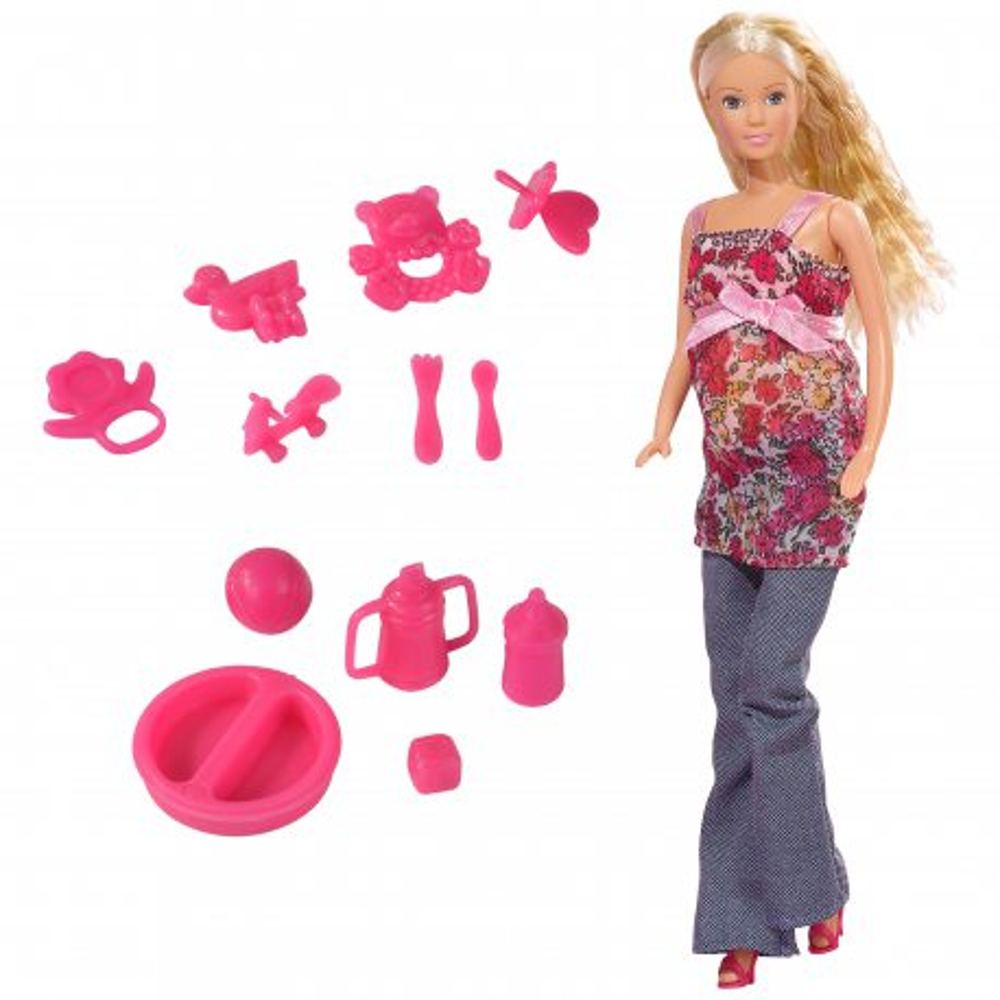 Simba Steffi LOVE - Lalka Steffi w ciąży + Akcesoria 5734000