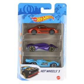Hot Wheels - Małe samochodziki Trzypak 3-pak K5904 31