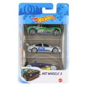 Hot Wheels - Małe samochodziki Trzypak 3-pak K5904 28