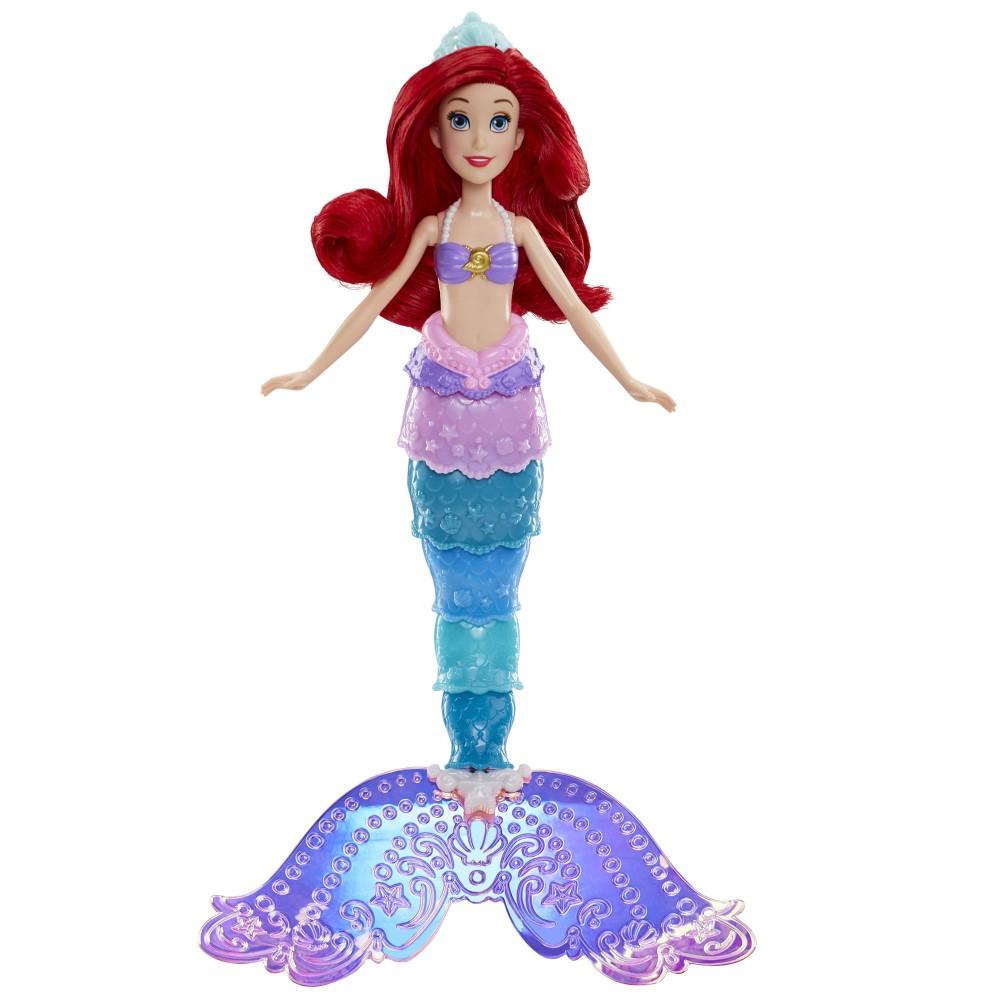 Hasbro Disney Princess - Lalka Arielka Tęczowy Ogon F0399