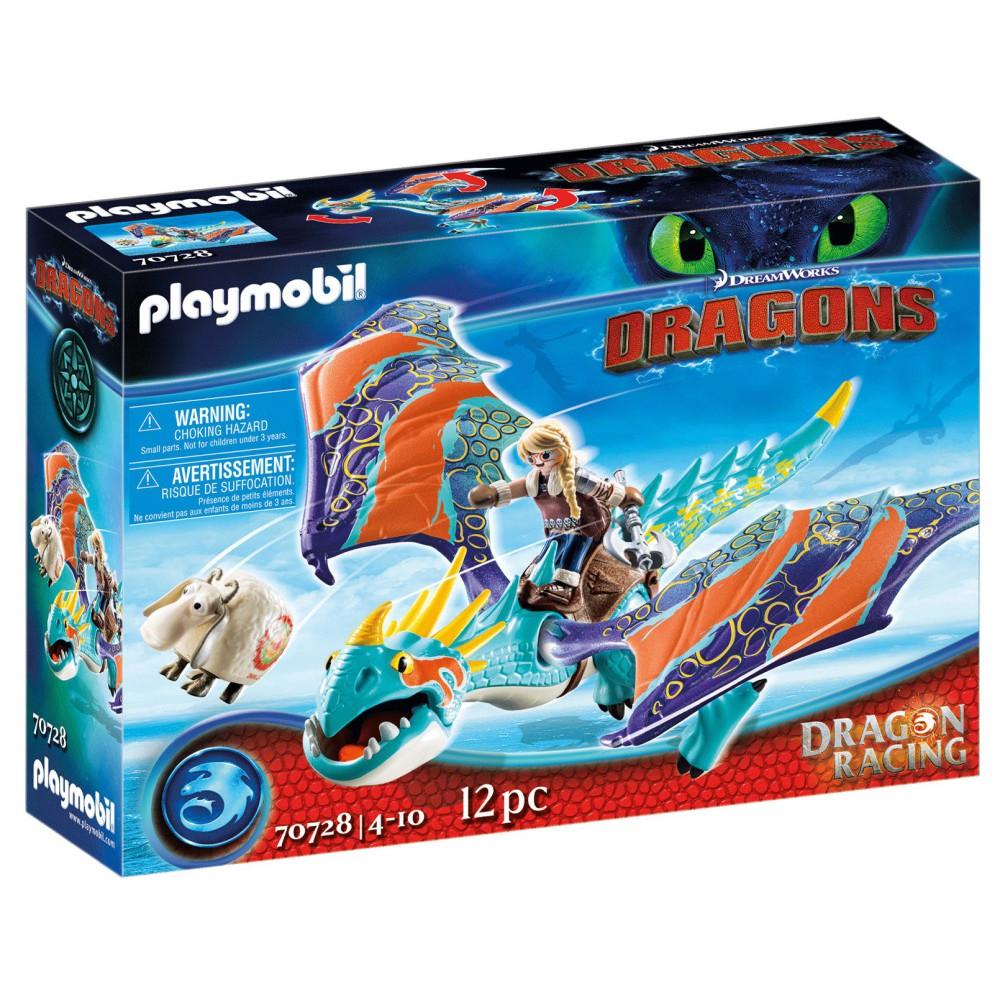 Playmobil - Dragon Racing: Astrid i Wichura 70728