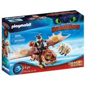 Playmobil - Dragon Racing: Śledzik i Sztukamięs 70729