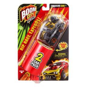 Boom City Racers - Wybuchowy Samochód 2-pak Zestaw Roast'D! Seria 1 BCR40058
