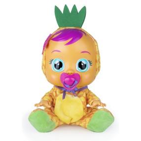 IMC Toys Cry Babies Tutti Frutti - Płacząca lalka bobas Pia Ananas 93829