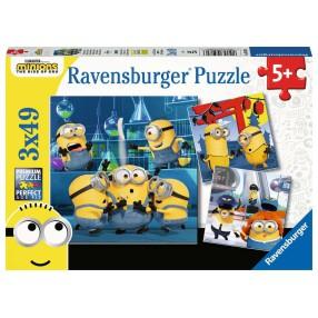 Ravensburger - Puzzle Minionki 2 3x49 elem. 050826